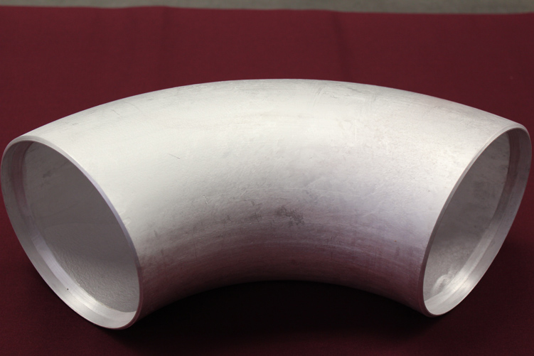 Aluminum Pipe Fittings Long Radius 90 Degree Elbow